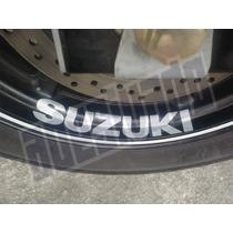 Adesivado Adesivo Roda Racing Suzuki Srad Gsx Gs Bandit Moto