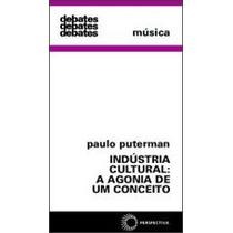 Livro Indústria Cultural: A Agonia De Um Conceito - Novo