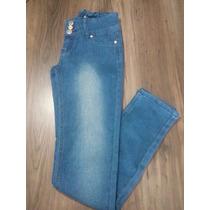 Calça Jeans Infantil Feminina Modelos Diversos 14 E 16! Nova