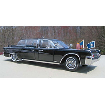 Cadillac Limousine Presidencial Eua Lincoln X-100 1961 1/24