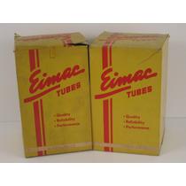 Par De Válvulas Eimac 4-250a Novas E Testadas Na Caixa