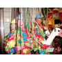 Marionetes De Madeira E Pano Artesanais