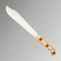 Adaga Cigana Dourada - Esotérico - Espada - Punhal - Faca