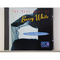 Cd - Barry White - The Very Best Of(importado)