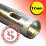 Brocas Para Vidro Diamantada 12mm Serra Copo Artesanato