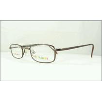 Armação Infantil Óculos De Grau Da Kids Fashion Marrom A364