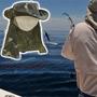 Chapeu Australiano Camuflado Protetor De Nuca Pesca Camping