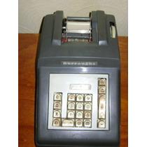 Raridade Máquina Registradora Burroghs Antiga
