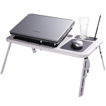 Mesa Notebook E-table Note C/ 2 Coolers 5 Níveis De Altura
