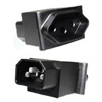 Adaptador De Conector Iec320 C14 Para Tomada Nbr 14136