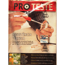 Revista Pro Teste 58 Maio 2007 Assistencia Tecnica- Cdlandia