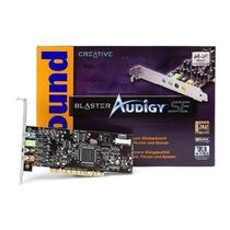 Placa Pci De Som Creative Sound Blaster Audigy 7.1 Sb0570