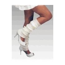 Polainas Em Lã Brancas Fashion Sexy Moda Ballet