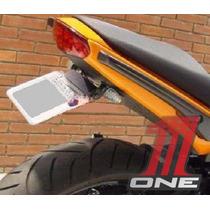 Eliminador Suporte Placa Articulado Moto Kawasaki Er6n 2009