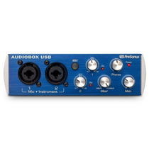 Audiobox Usb 2x2 + Studio One 2 + Préamps Melhor Fast Track