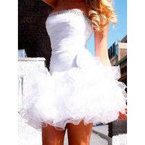 Elegant Vestido Festa , Noiva , Debutante . Pronta Entrega !