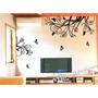 Adesivo Decorativo Quarto Sala Decoração Floral Tamanho 3mx1