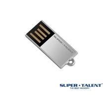 Mini Pen Drive Pico C Silve Super Talent 32gb Usbc/ Corrente