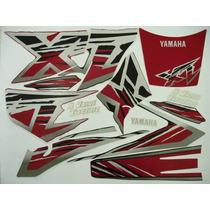 Adesivo Xt600 1998/99 Preta, Faixa Original Completa