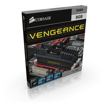 Memória Corsair Vengeance 8gb ( 2x4gb ) 1600mhz C9 Box