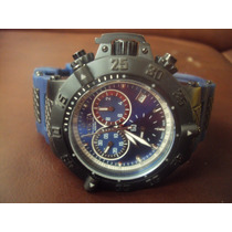 Relógio Invicta Sub Aqua Noma Iii - Azul - Crono - Origianal