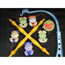 Mobile Giratorio Disney Cachorrinhos Musica Ninar P/ Berço