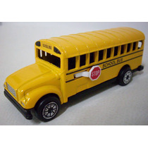 Ford Ônibus Escolar 1:64 School Bus Eua Mercedes Dodge Volvo