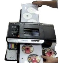 Kit Bandeja 3 Cd Dvd Hp 8000 Impressora Adaptação C/ Suporte