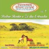 Cd / Pedro Bento E Zé Da Estrada = Galopeira / Araguaia
