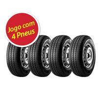 Kit Pneu Aro 15 Pirelli 225/70r15 Chrono 112r 4 Unidades