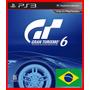 Gran Turismo 6 Ps3 Codigo Psn Portugues Br Envio Já