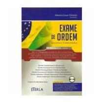 Exame De Ordem - Questões Comentadas - Primeira Fase -cd-rom