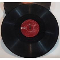 Disco 78 Rpm Parlophon - Joviniano Araujo - 13.037