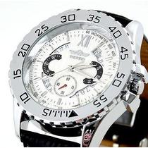 Relógio Winner Tradicional - 48mm De Diâmetro - Automático
