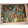 Pintura - Óleo Sobre Tela 30x40 - Pessoas Conversando 2