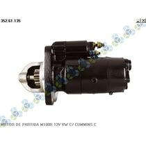 Motor De Partida M100r 12v Volkswagen C/ Motor Cummins