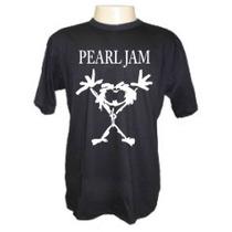 Camiseta Pearl Jam Banda De Rock Engraçadas Divertidas Frase