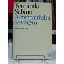 Livro - Fernando Sabino - A Companheira De Viagem
