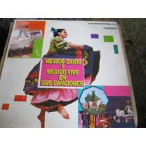 Lp = Mexico Canta Y Mexicovive - Coletanea
