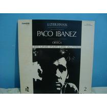Paco Ibanez - Les Uns Par Les Autres - Lp Importado Capa...