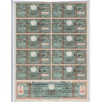 Cedula Da Alemanha De 1918 - Dinheiro Antigo - Bonus