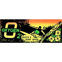 Adesivo Surf Oxigen O2 - Anos 80 - 25 X 9,5