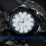 Relógio Sport Swiss Army Military Branco ***frete Grátis***