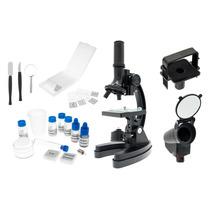 Microscópio Vivmic4 Ampliação Até 1200x + Maleta Kit 100 Pçs