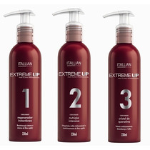 Itallian Hair Tech Extreme-up Kit Pós-quimica Nova Embalagem