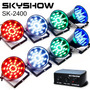Kit Canhão Sequencial Led Sk2400 Vortex 2 Skyshow Sensor Som