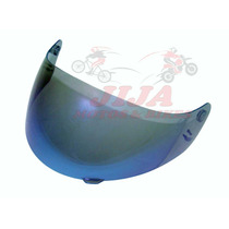 Viseira Capacete Ebf Eox Blue - Modelo E17