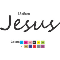 Adesivo Notebook Jesus Evangélico Cristão Jesus