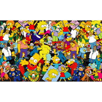 Sticker Bomb Exclusivo Os Simpsons Bart Homer Vetorizado Abc
