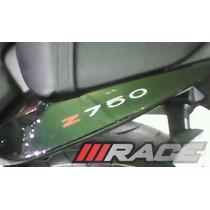 Par De Adesivos Z750 Para Lateral Rabeta-moto-kawasaki Z 750